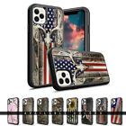 For Apple iPhone 12 Pro Max Hybrid Rugged Camouflage Shockproof Protective Case