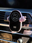 LineFriends BT21 Car Fast Wireless Charging Cradle Cell Phone Battery BTS Deco