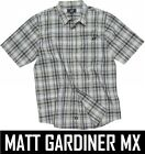 ONE INDUSTRIES MENS SUPERSTITION SHIRT short sleeve casual grey adult motocross