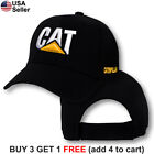 Caterpillar Cap CAT Construction Logo Hat Embroidered Tractor Trucker Equipment