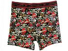 Ed Hardy Cotton Stretch boxer briefs Tattoo , Size Small - Red top