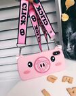 3D Carton Piggy Silicone Rubber Cute Case w/Finger Ring Stand for iPhone Xs Max