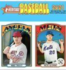 2021 TOPPS HERITAGE BASE SINGLES - YOU PICK (251-500)