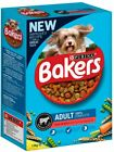 Bakers Dry Dog Food Beef and Veg Small & adult dog 1kg, 1.1kg, 1.2kg