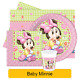 Disney BABY MINNIE Mouse Birthday Party Range - Tableware Supplies Decorations