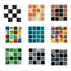 Kitchen Removable Mosaic Diy Home Decor Tile Stickers Wallpaper Wall Stickers