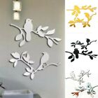 Walplus Birds Standing On The Tree Branch Mirror Wall Sticker Home Decorations