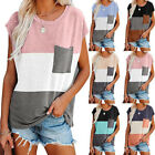 Womens T-Shirt Ladies Short Sleeve O Neck Loose Casual Blouse Tops Tee Summer