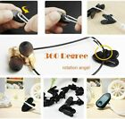 10/20x Headphone Wire Cord Clips Clamps Collar Lapel Shirt Holder Earphone Cable