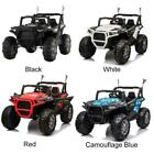 Kids Toy Ride On 12V Battery Car 4WD 2-Seats Land Rovers Defender MP3 USB Remote