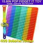 Large Size Jumbo Pop Its Fidget &Clip Finger Silicone Toy Bubble Squeeze it TOYS