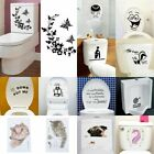 Durable Bathroom Toilet Decoration Seat Art Wall Stickers Decal  Home De Os