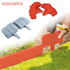 Garden Edging Cobbled Stone Effect Hammer-in Lawn Plant Border Fence Path Decor
