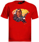 indian chief T-Shirt native american scout eagle
