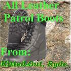 Mil-Com Thinsulate Leather Cadet Patrol Boots Size 4 to 13