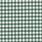 CHAMBRAY YARN DYED COTTON CLOTH FABRIC COMBINATE GINGHAM CHECK MELANGE GREEN 44""