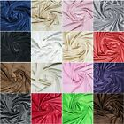 SOFT MINKY CHENILLE FABRIC 3MM SOLID PLAIN 36 COLOR 60""