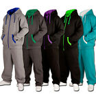 URBAN CLASSICS CONTRAST SWEAT SUIT TRAININGSANZUG ALLE