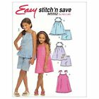 McCall's 5562 OOP Sewing Pattern to MAKE Girls' Dress Tops Shorts