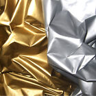 "NYLON 30D METALLIC WINDBREAKER WATERPROOF WATER REPELLENT FABRIC GOLD 60"" WIDTH"