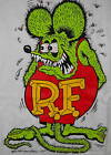Rat Fink Ed Roth white t shirt sizes M,L,XL,XXL,XXXL