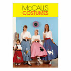 McCall's 6101 Sewing Pattern to MAKE 50's Circle Poodle Skirts - Adult or Child