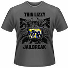 THIN LIZZY Jailbreak Grey T-SHIRT NEU