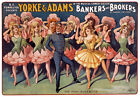 B14 Vintage Bankers & Brokers Musical Dance Theatre Poster A1 A2 A3