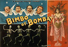 B51 Vintage Bimbo Of Bombay Magical Musical Theatre Poster A1 A2 A3