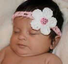 Handmade Crocheted Baby Headband *Lady Bug* You Choose Size*