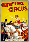 TZ70 Vintage Gentry Circus Carnival Poster A1 A2 A3