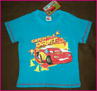 DISNEY CARS Lightning McQueen Awesome T-Shirt Short Sleeve Top Sz 3 4 6 or 8 NEW