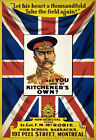 WA69 Vintage WWI Canadian British Empire Kitchener Enlist War Poster A1 A2 A3