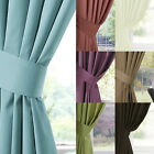 A PAIR OF GRACE SATIN TIE BACKS - MULTIPLE COLOURS - MATCHING CURTAINS AVAILABLE