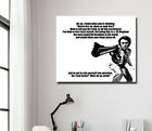 Dirty Harry Quote - Clint Eastwood - Canvas Art - Ready to Hang - CHOOSE UR SIZE