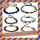 NEW SHAMBALLA BRACELET CRYSTAL BEADS DISCO BALL BLING FRIENDSHIP JEWELLERY GIFT