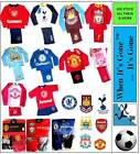 GIRLS/BOYS OFFICIAL LICENCED FOOTBALL CLUB Pyjamas Set, UNDERWEAR