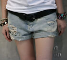 Vintage Light Blue Denim Hot Short Jean pants p098