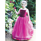 childrens kids girls childs cerise BRIDESMAID DRESS or BALLGOWN ages 3-12yrs