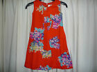 new MINI BODEN  Red floral summer dress 2 3 4 5 6 7 8 9 10 yrs