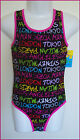 GIRLS TOGS Sz 8 9 10 12 14 16 - SWIMWEAR Bathers with Action Back GORGEOUS - New