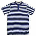Request Boys S/S Striped Navy Blue Top Size 8 10/12 14/16 18 $26