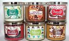 Bath & Body Works  3 Wick 14.5 oz. Scented Candles U~Choose