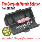 GEE TAC X LARGE BAIT STATION RAT / RODENT BOX FOR VERMIN POISON +15 free blocks