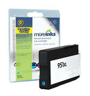 Remanufactured 951XL High Capacity Cyan Ink Cartridge for HP Printers