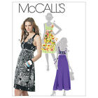 McCall's 6110 Out of Print Sewing Pattern to MAKE Sleeveless Dresses Sz 4-12