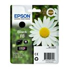 Genuine Epson T1801 / 18 Black Printer Ink Cartridge C13T18014010 Daisy