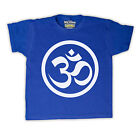 HINDU OM CHANT YOGA INDIAN MEDITATION KIDS T SHIRT ALL COLOURS AND SIZES