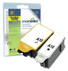 2 Compatible Advent ABK10 / ACLR10 Ink Cartridges for A10 AW10 AWP10 Printers
