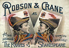 TH87 Vintage Shakespeare Knaves Theatre Poster A1 A2 A3